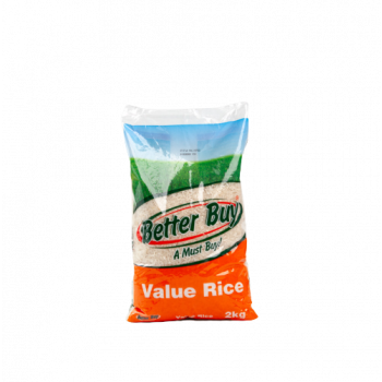 Better Buy Value Rice 2kg
