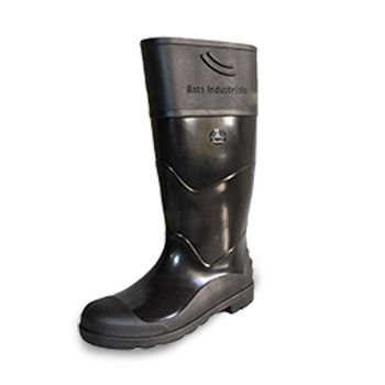 Bata Black Gumboot-8026061