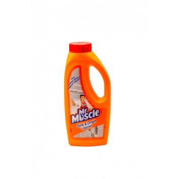 MR MUSCLE SINK AND DRAIN CLEANER 500ML