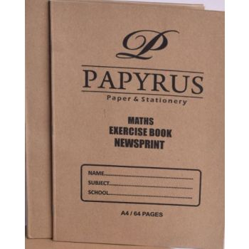 Papyrus A4 Maths  Exercise Book