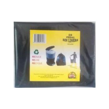 House Hold Pedal Bin Liners 10s