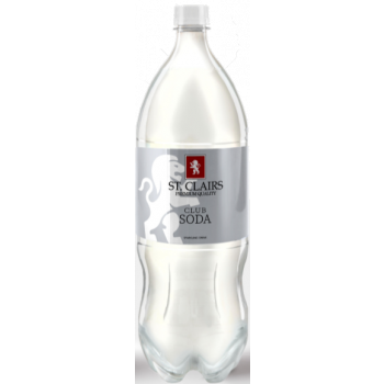 St Claires Club Soda 2LT